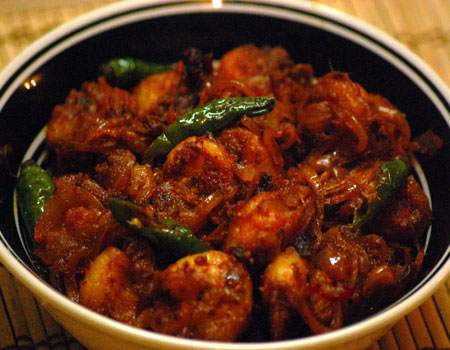 Chilli Prawn (Dry / Semi Gravy / Gravy)
