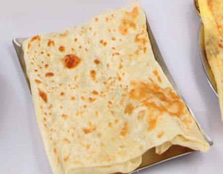 Ceylon cheese Parotta
