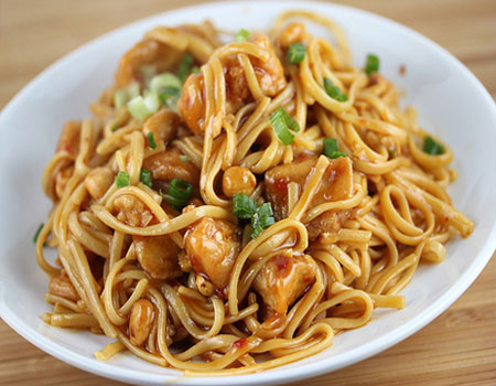 Butter Chicken Noodles